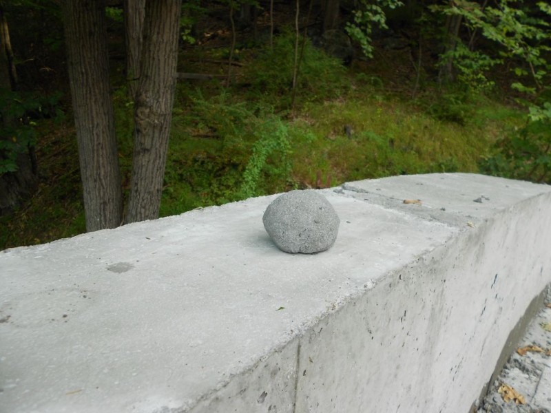 Concrete egg/ball?