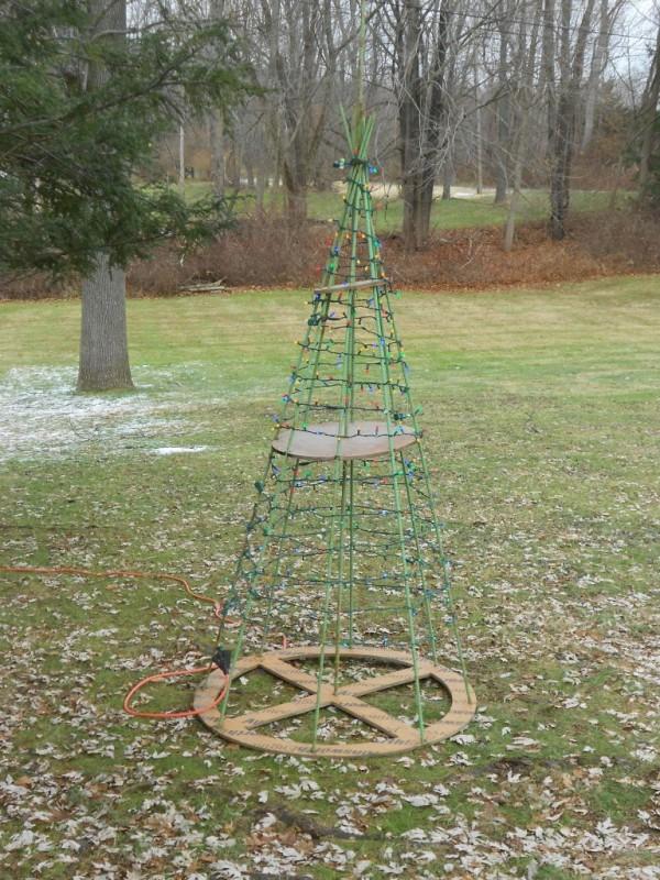 Rebar Christmas Tree