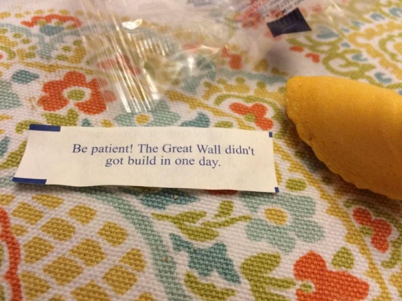 My Fortune.