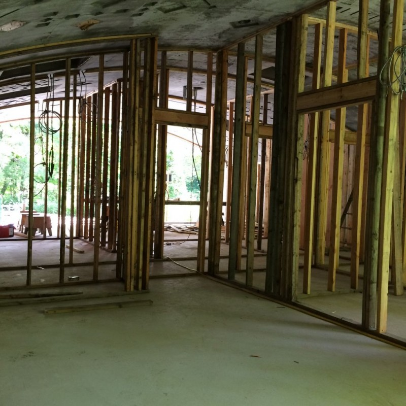 Interior framing: Master Bedroom