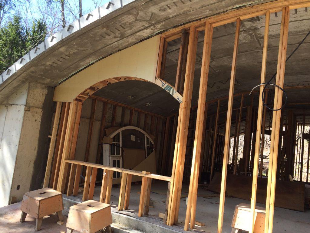 Hobbit Hollow Window Framing 020 – My Hobbit Shed